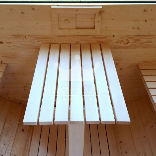 """""""FASS SAUNA"""" 4.24m x 2.38m mit Panoramafenster"""