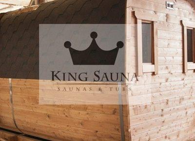Quadratische Saunas