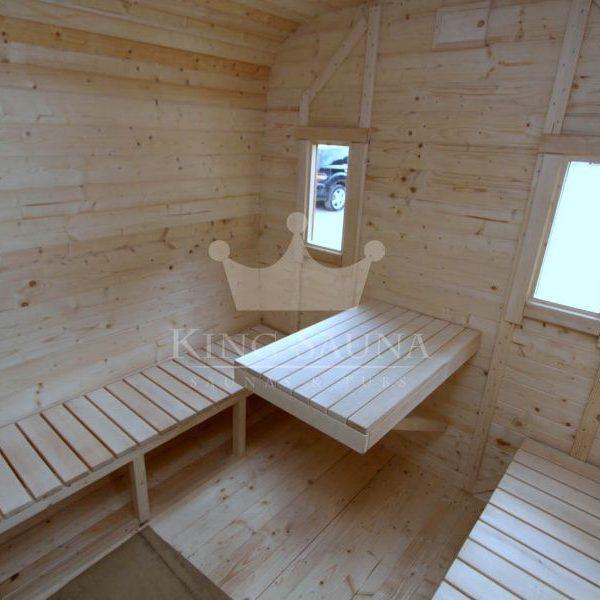 """QUADRATISCHE"" 5.24m x 2.38m Sauna"
