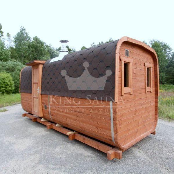 """""""SQUARE"""" Sauna für acht Personen"""