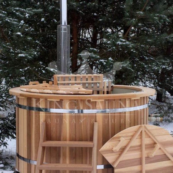"Red Cedar ""PLASTIC"" Badebottiche 1.8m"