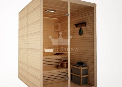 "Assemblable Indoor Sauna ""STANDARD"" 1.52mX 1.52m"