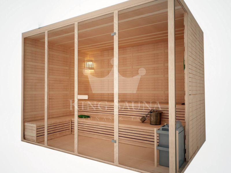 indoor sauna standard f r ihr haus x saunen badebottiche. Black Bedroom Furniture Sets. Home Design Ideas